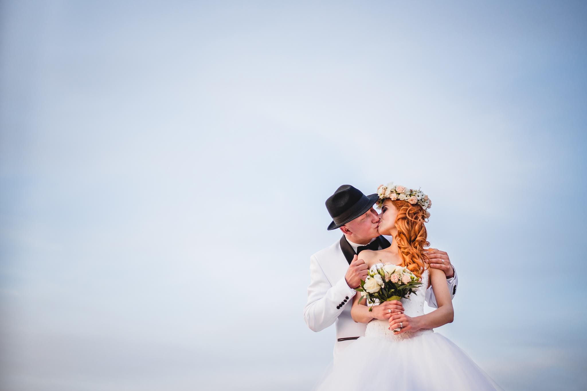Svadobná fotografia - portrét