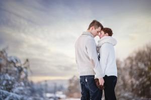 láska, príroda, love, obloha, oblaky, sky, romantika, radosť, zamilovaný pár, zima, winter