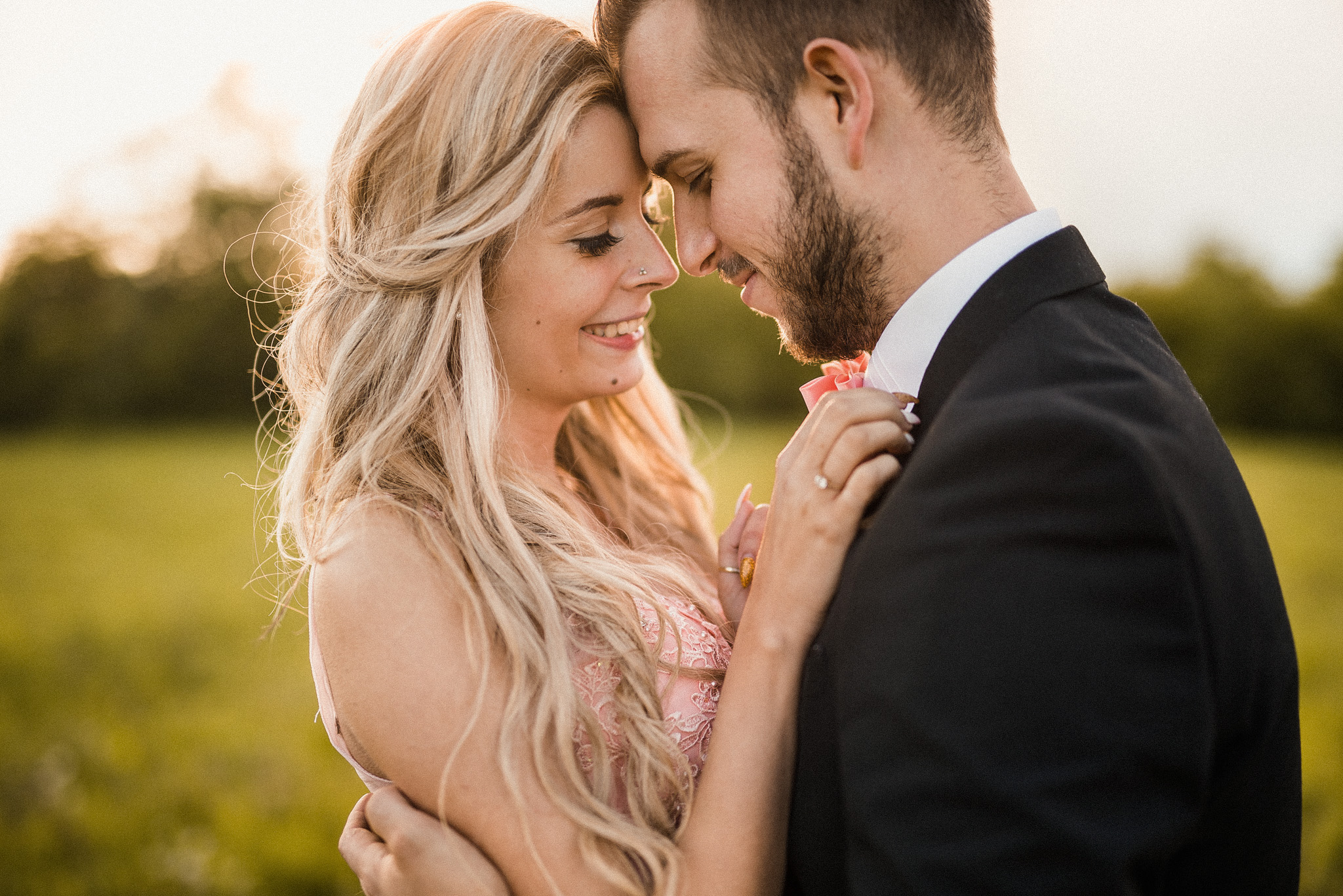láska, pár, detail, úsmev